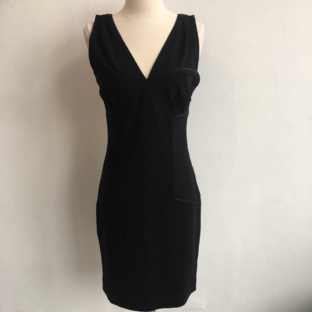 DVF Black Bodice Fitted