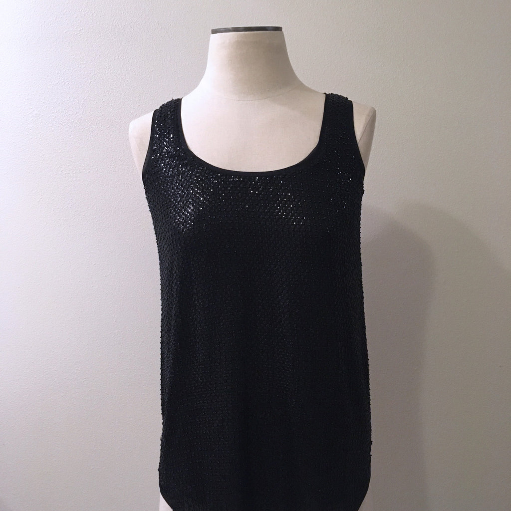 DVF NWT Pellina Sequin Top