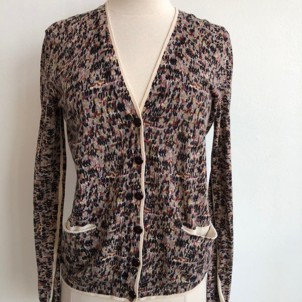 Marc by Marc Abstract Cardigan Button Up