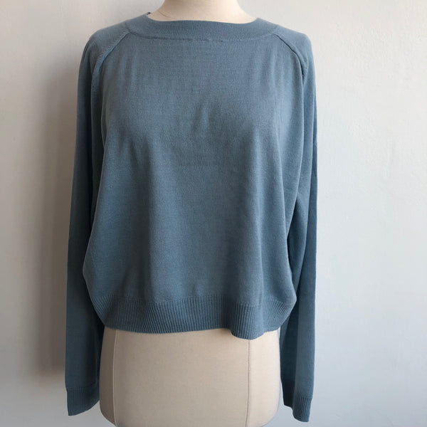 Vince Light Blue Cashmere Crop
