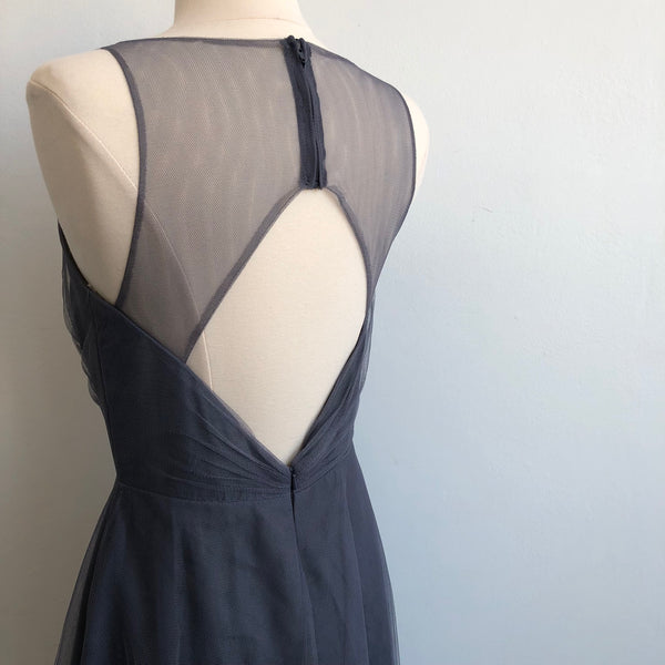 Monique Huillier Tulle Empire Gown NWT