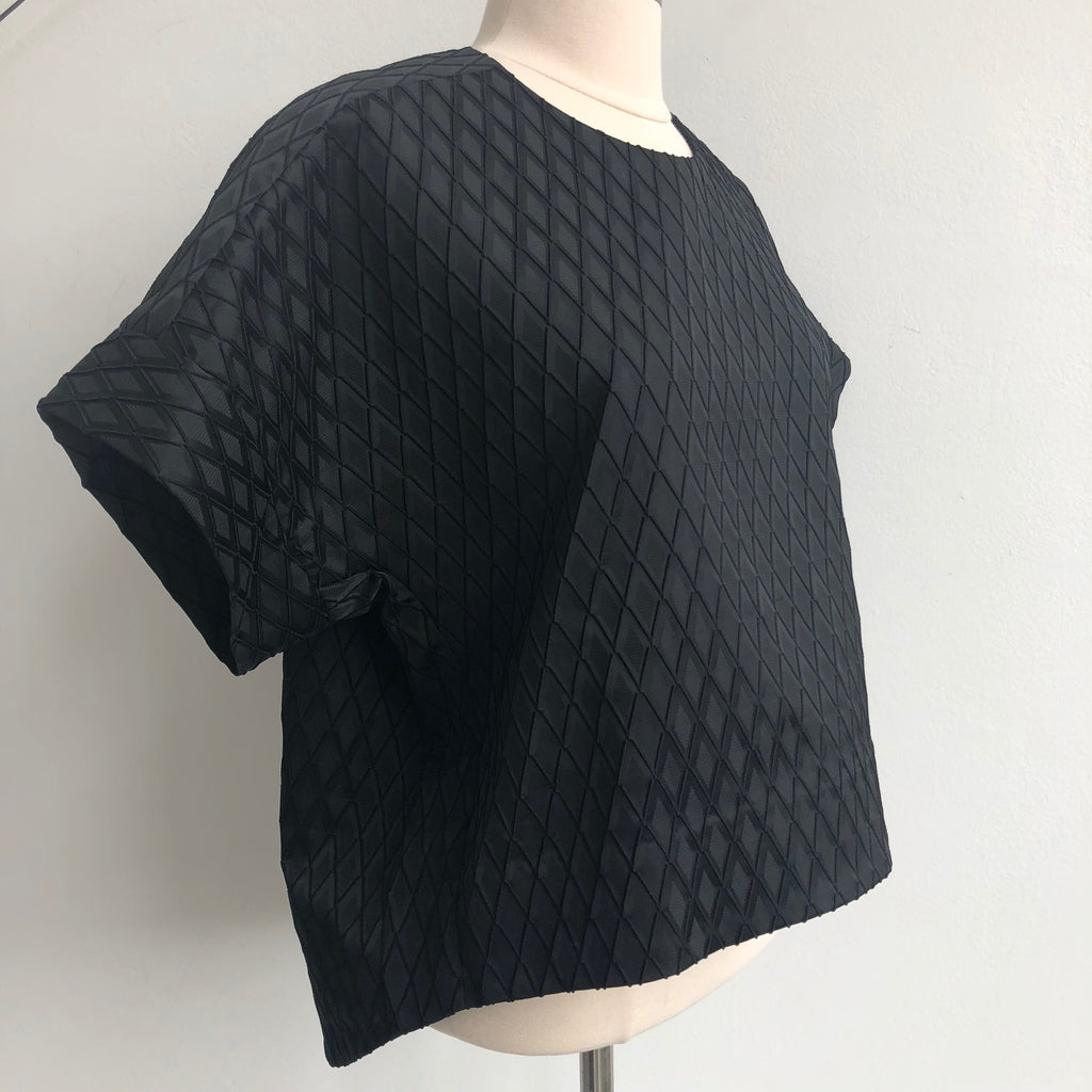Johnathan Simkhai Black Structured Top NWT
