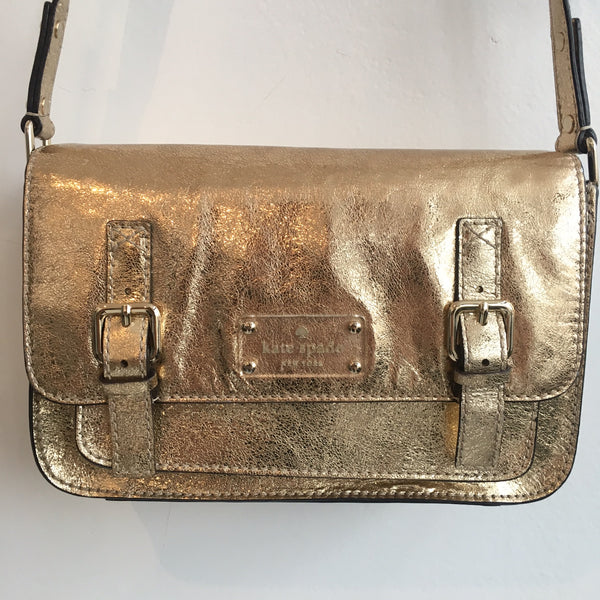 Kate Spade Flicker Scout Gold Crossbody
