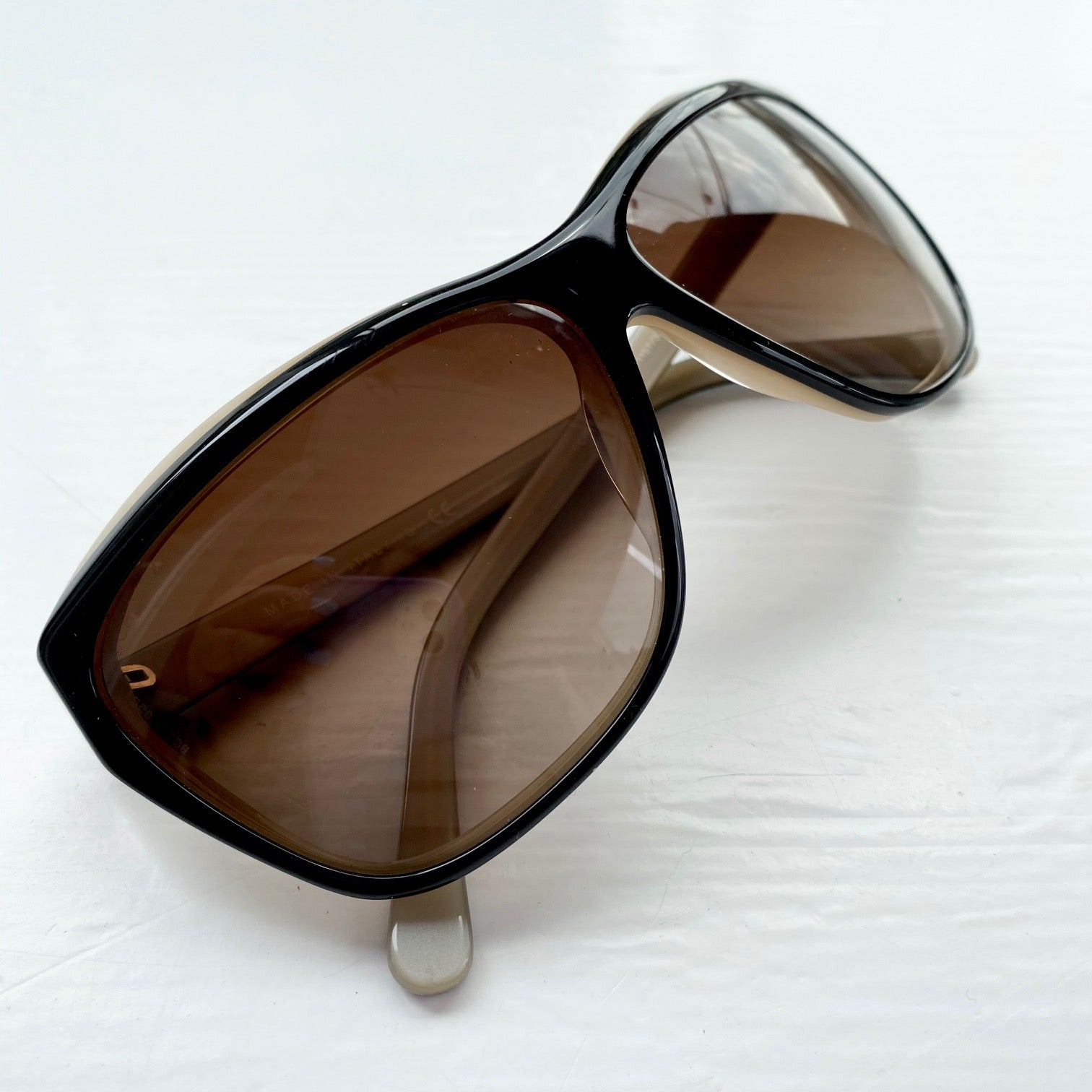 CHANEL Blush Black Classic Sunglasses