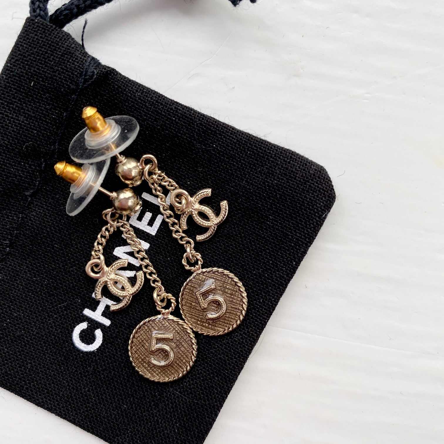 Chanel 5 Earrings