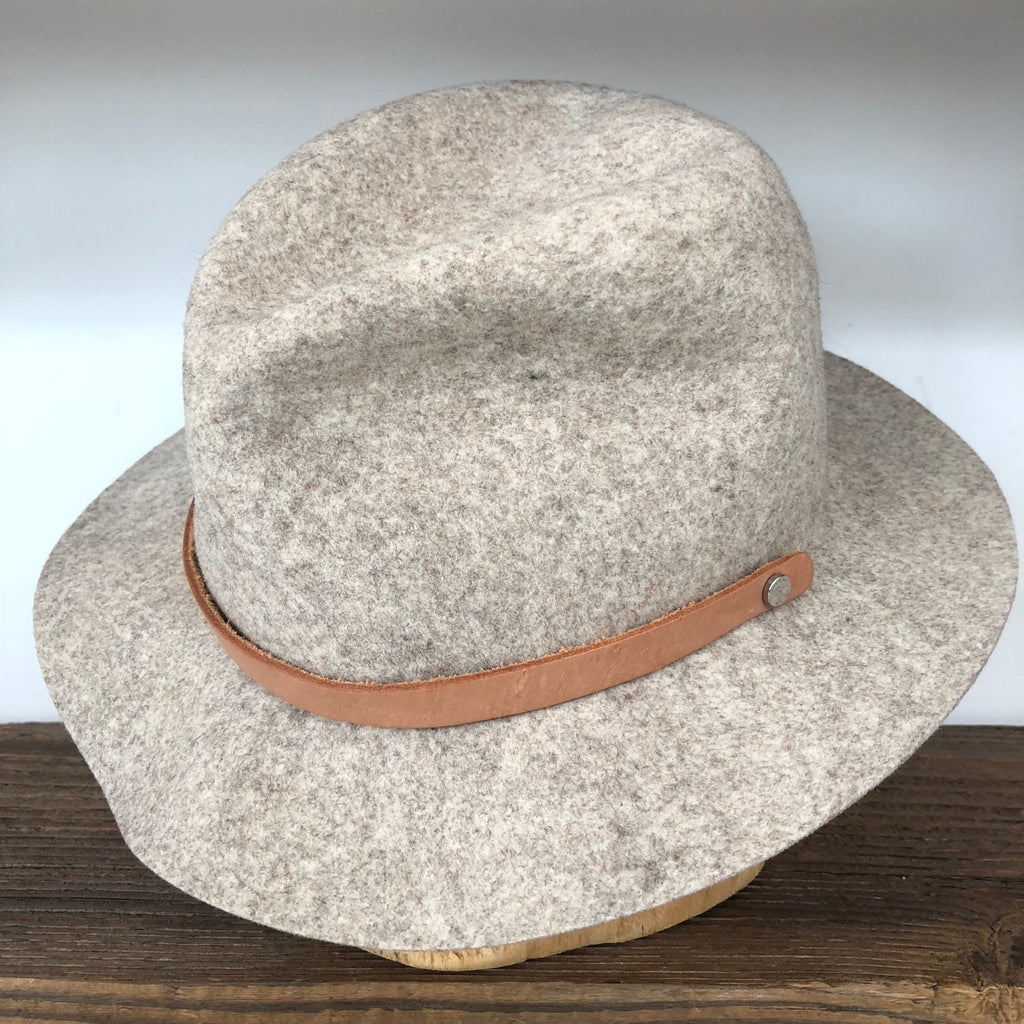 Rag & Bone Gray Felt Hat