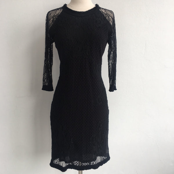 Sea New York Lace Long Sleeves Dress