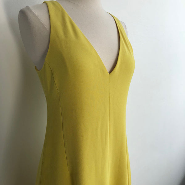 Theory Sunflower Yellow Sleeveless NWT