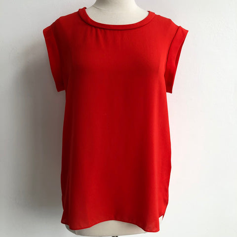 3.1 Philip Lim Red Silk Tee