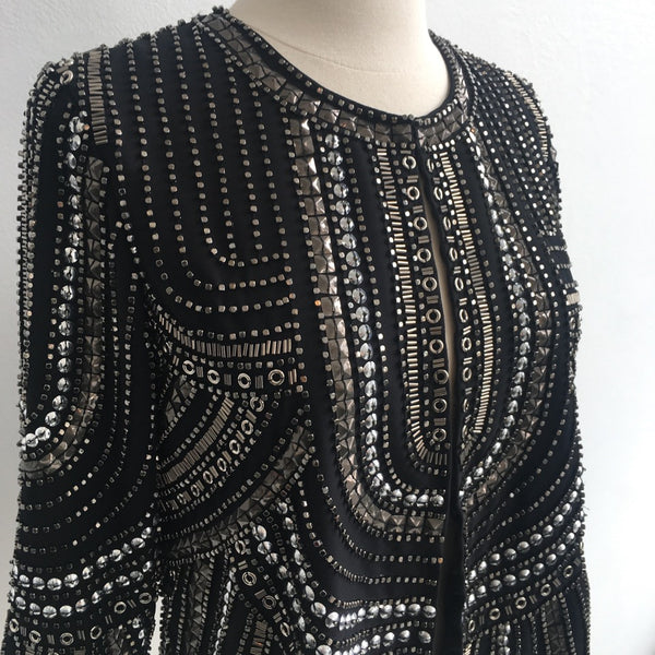 Parker NWT Black Studded Jacket