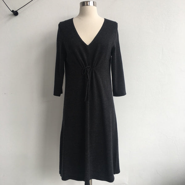 Eileen Fisher Charcoal Sweater Dress