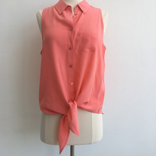 Equipment Coral Pink Silk