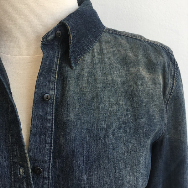 3X1 NWT Denim Top