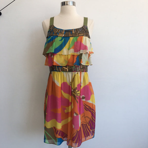 Tibi NWT Multi Colored and Embelished