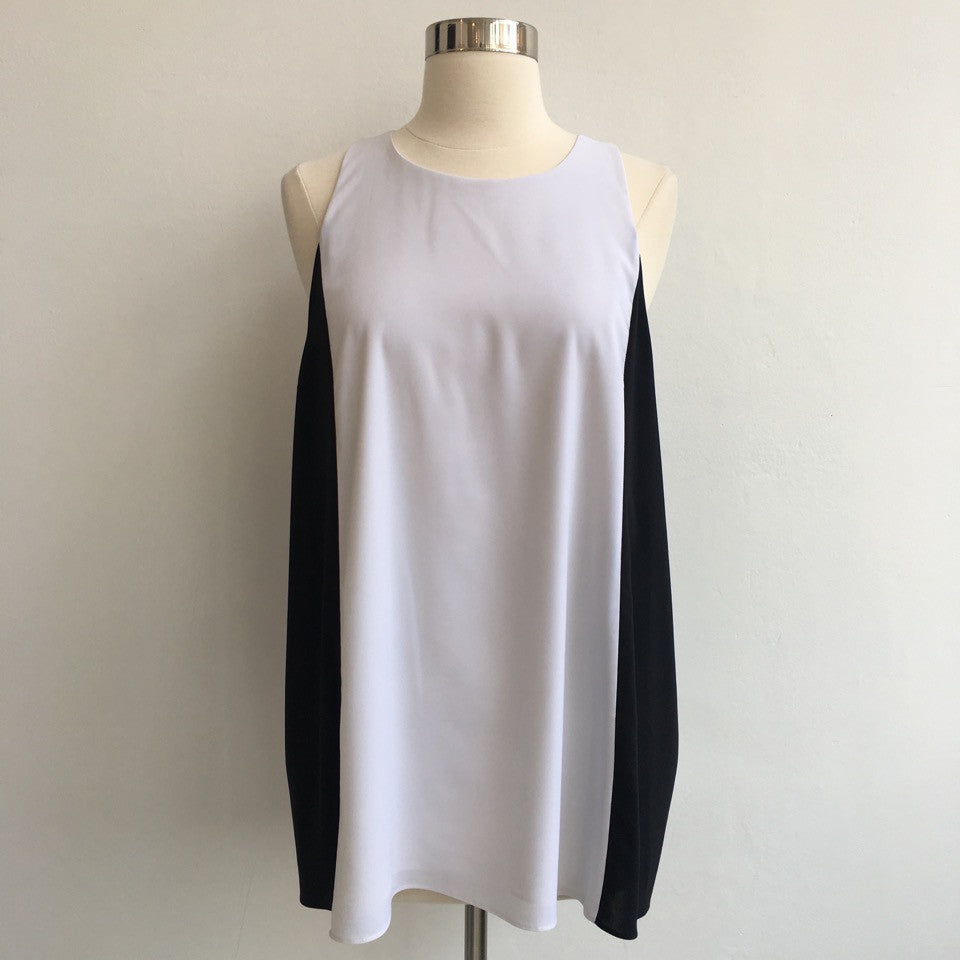 Alice Olivia Black and White Tunic NWT