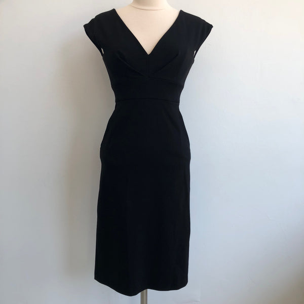 Catherine Malandrino Black Fitted w/pockets NWT