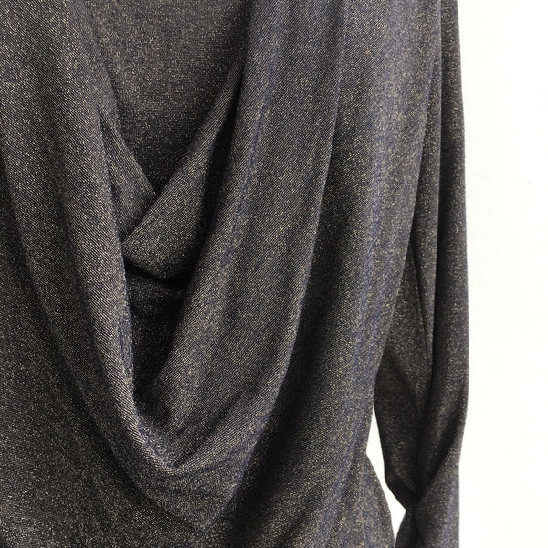 The Wrights Gold Draped Cowl