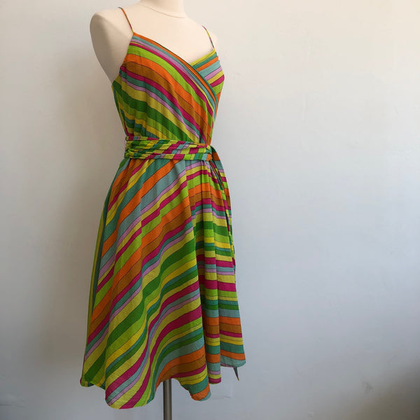 Marc by Marc Multi Color Striped Flare
