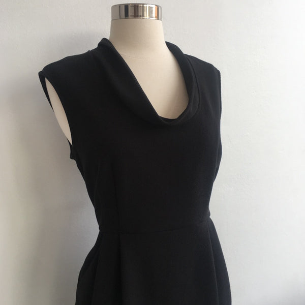 Eileen Fisher Black Dress w/pockets
