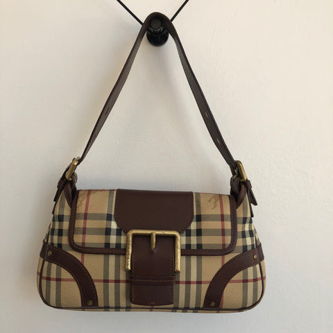 Burberry Vintage Shoulder Buckle Bag