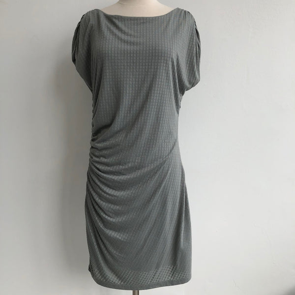Reiss Pale Mint Draped Dress