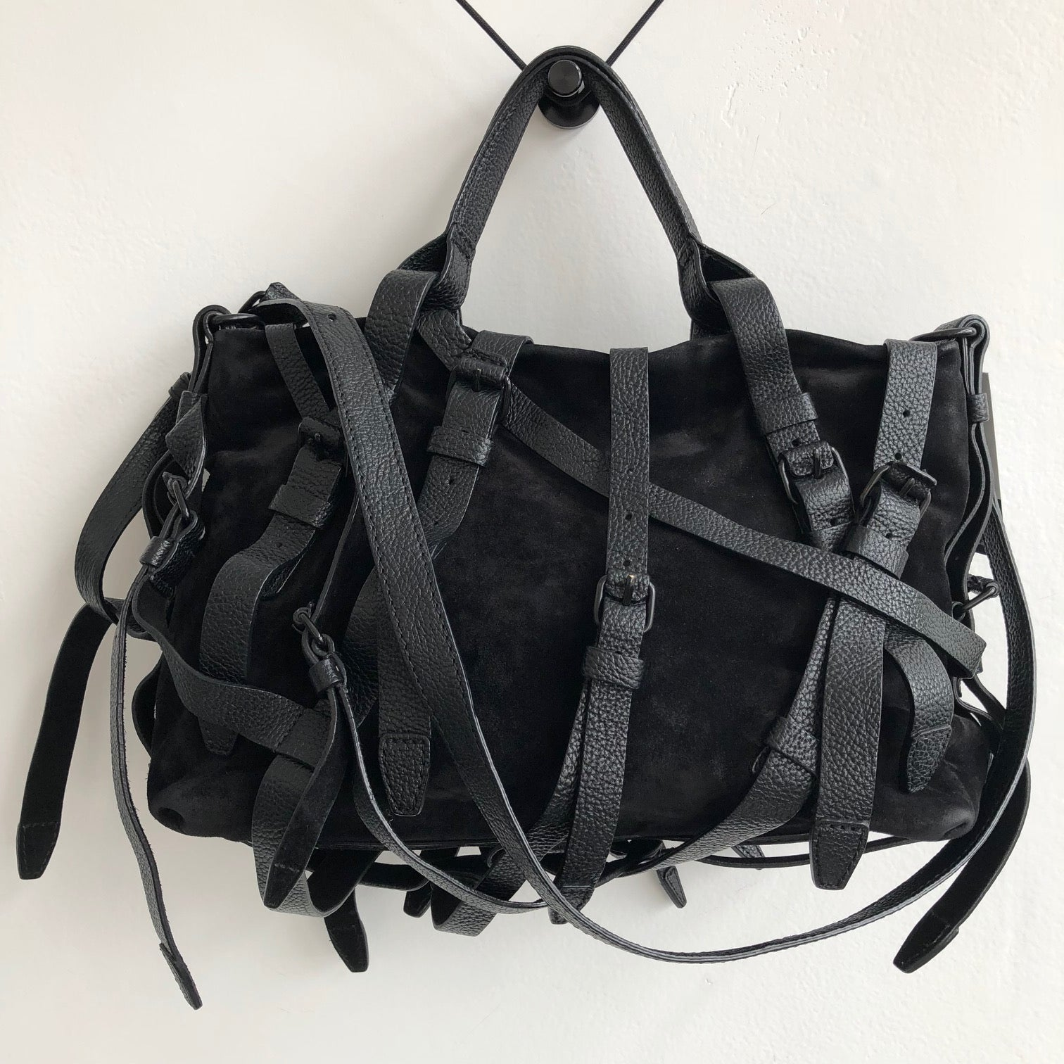 Alexander Wang Black Buckle Kirsten Crossbody w/ dustbag