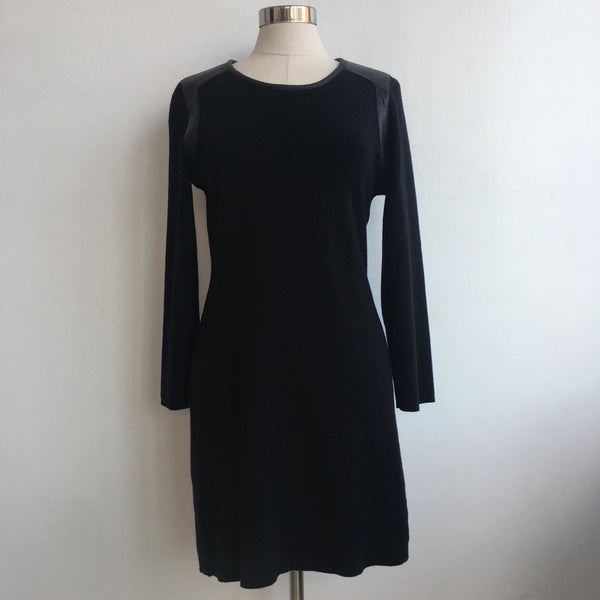 Rag & Bone Leather Sweater Dress