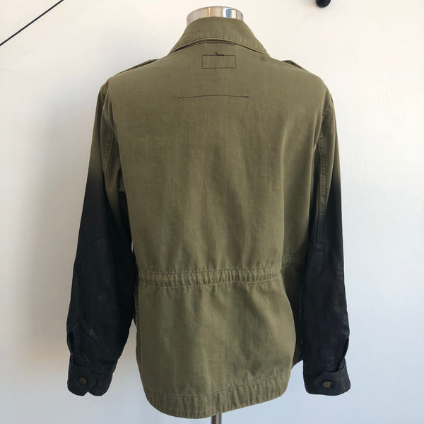 Current Elliott Green Black Gradient Jacket