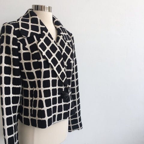 Tracy Reese Black and White Jacket NWT