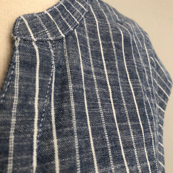 Joie Striped Chambray Shift
