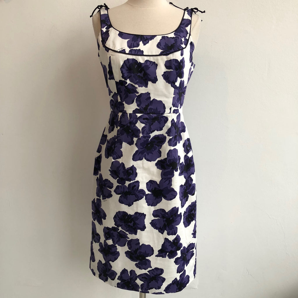 Milly Purple Floral Dress