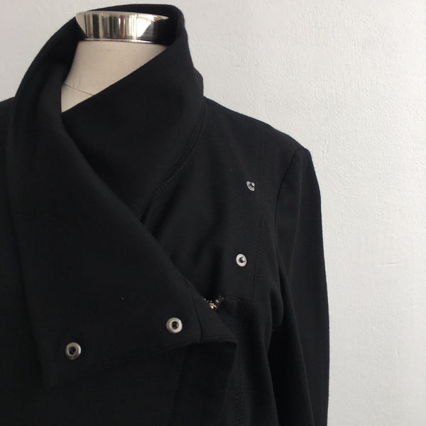 Helmut Lang Black Wool Basic Jacket
