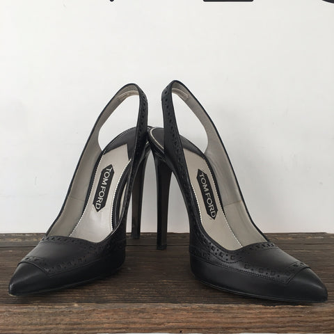 Tom Ford Black Pumps (with dust bag and tips)