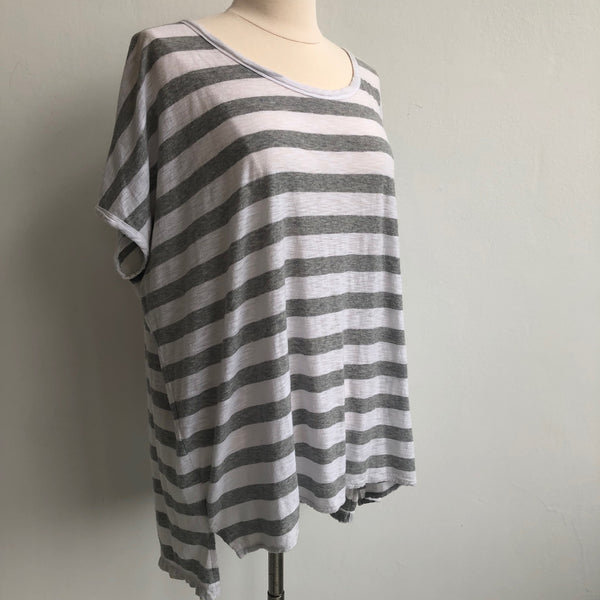 James Perse Striped Tee