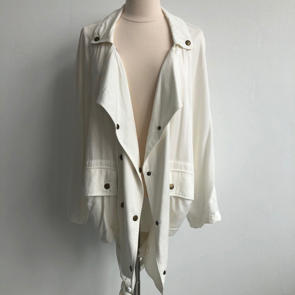 Current Elliott White Draped NWT
