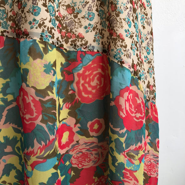 Joie Floral Silk Maxi