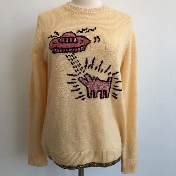 Coach x Keith Karing UFO Intarsia Sweater