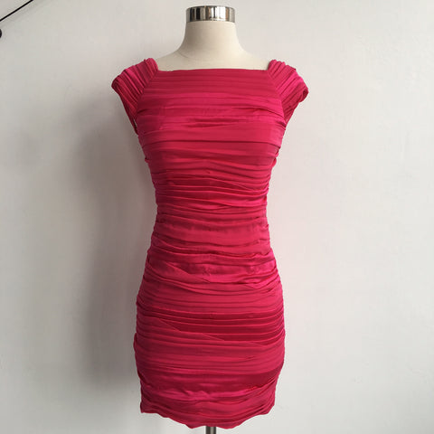 Alice Olivia Bright Pink Body Con