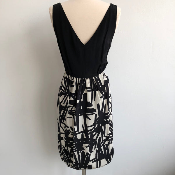 Tibi NWT Black and Cream