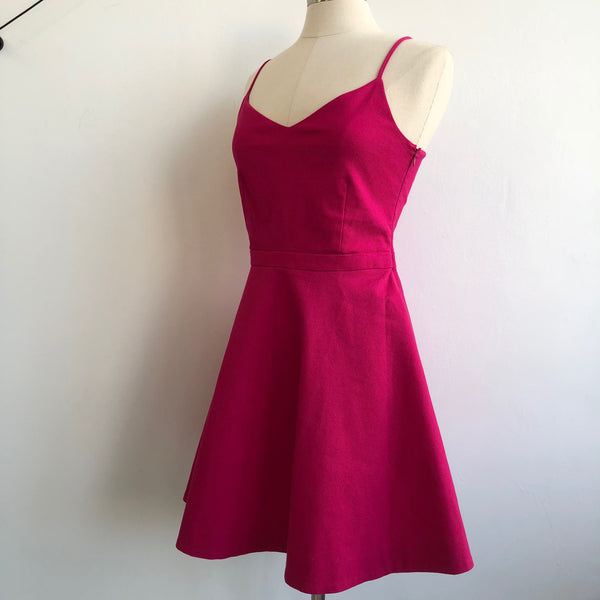 Joie Pink Fit Flare Dress