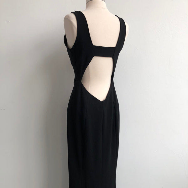 Intermix Deep Plunge V Dress