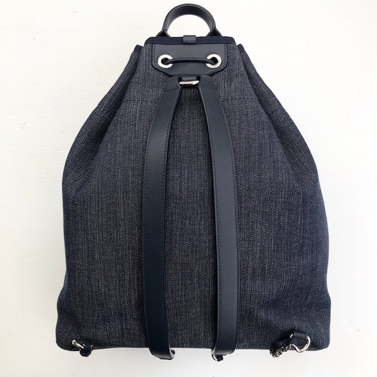 CHANEL Denim Deauville Backpack