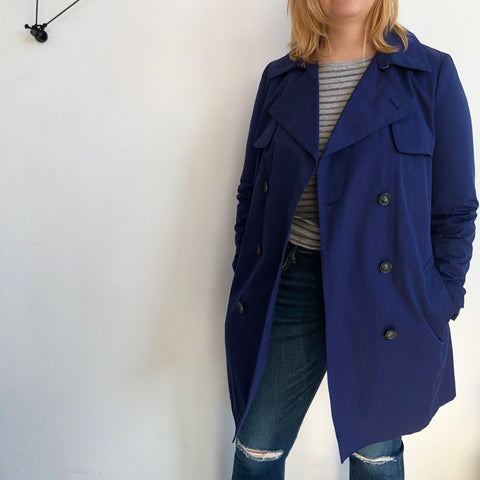 Vince Navy Trench