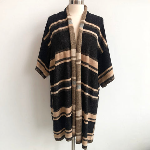 Vince Sweater Striped Cardigan