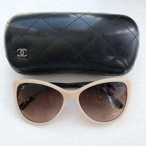 CHANEL Blush Black Sunglasses