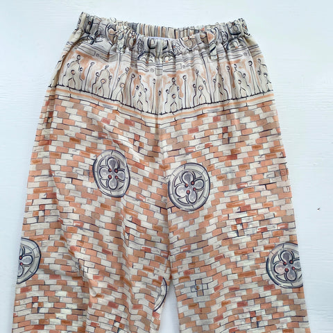 Villa d'Este Patterned Pants