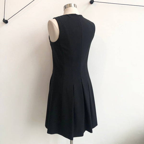 Theory Black Sleeveless Shift