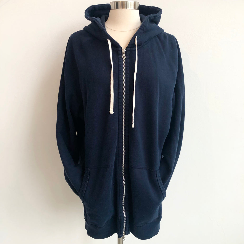 Reighning Champ Navy White Hoodie