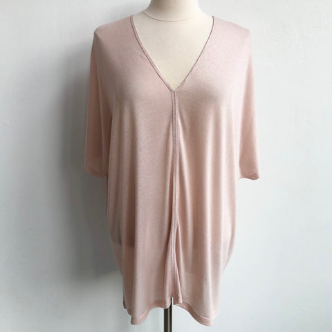 Vince Pale Pink Pullover Tee