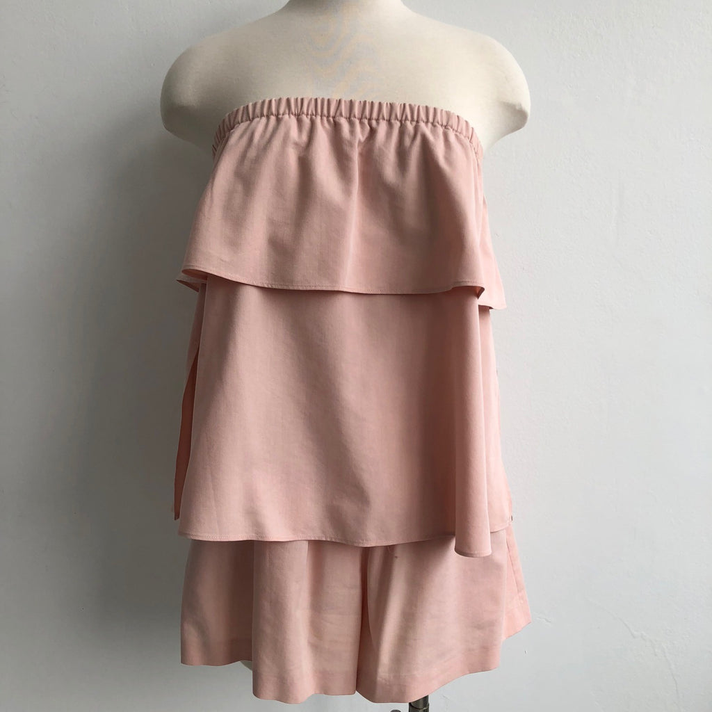 Club Monaco Blush Layered Romper